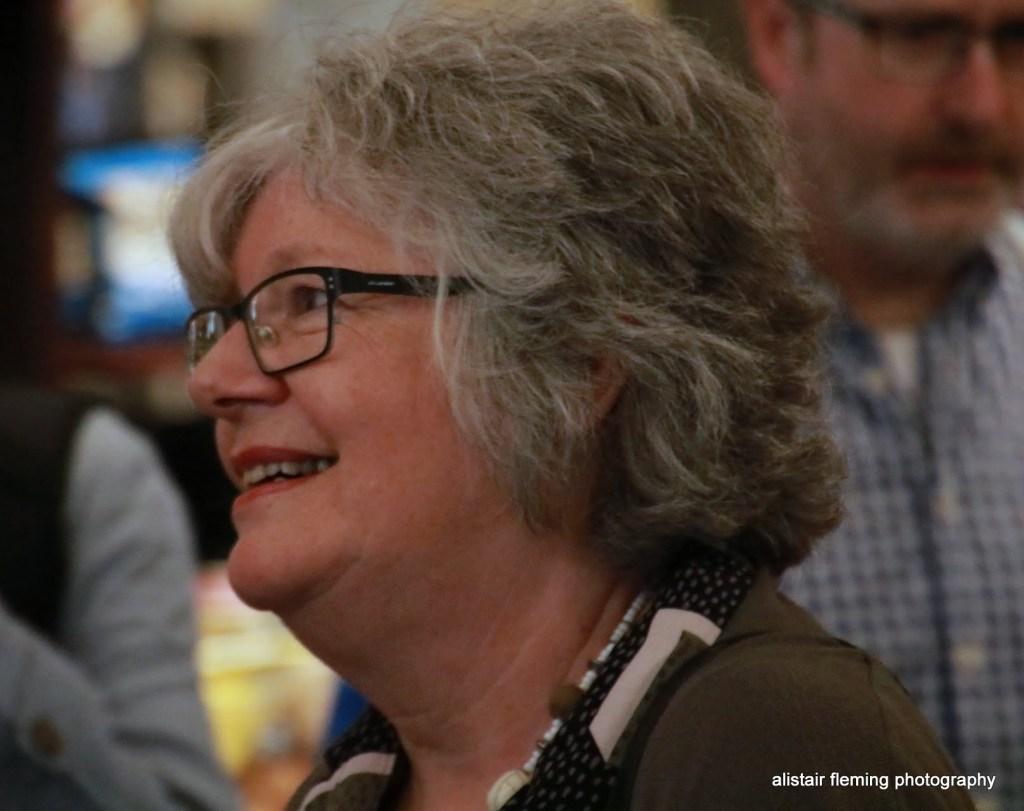 Journalist Sue Tranter