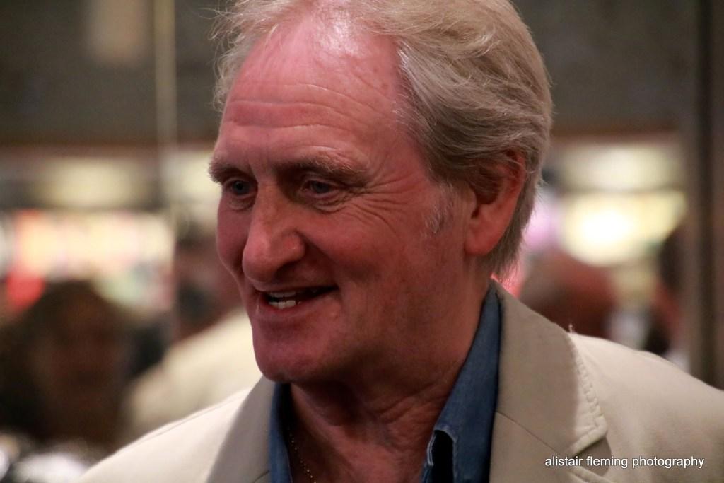 Author and sports journalist Alex Gordon