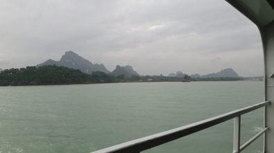 Moving pictures on the ferry to Koh Samui