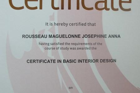 certificate in basic interior design1