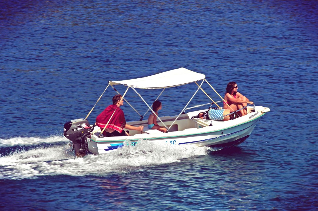 Boat hire and rental available in Fiscardo