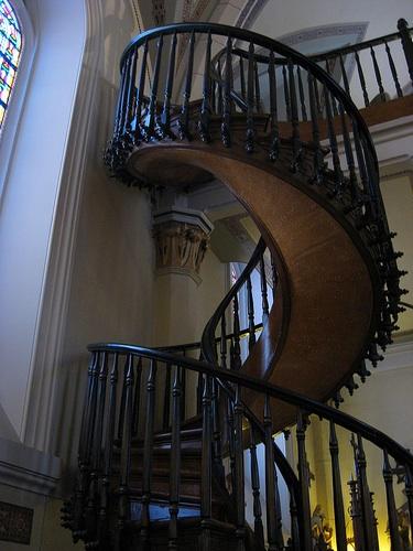Loretto Staircase in New Mexico