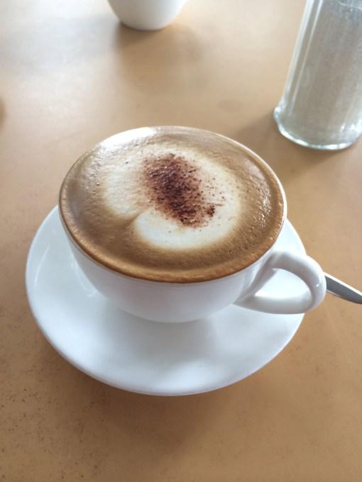 Cappuccino in Zanzibar