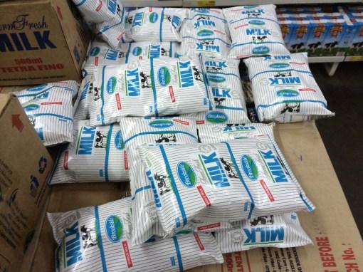 Milk in Arusha