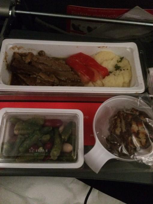 Norwegian Air Shuttle In-flight Meal