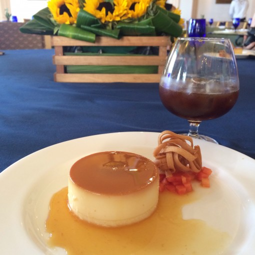 Coconut Flan at El Mexicano Cafe at The Ritz Carlton Cancun