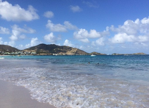 Bikini Beach in Saint Martin