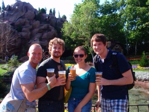 Canada- Drinking around the world at Epcot