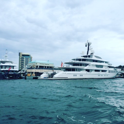 Yachts in Fort Lauderdale, F