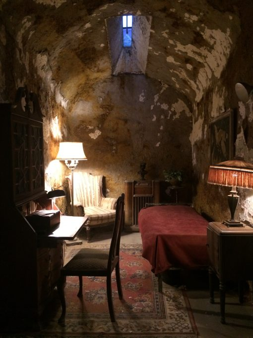 Al Capone's Cell at the Eastern State Penitentiary in Philadelphia