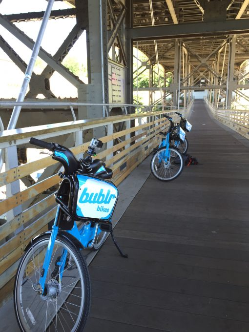 Bublr Bikes are a great way to explore Milwaukee