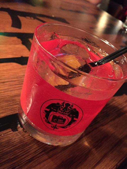 Enjoy a cocktail at Spybar. Milwaukee's cold war era spy themed speakeasy.