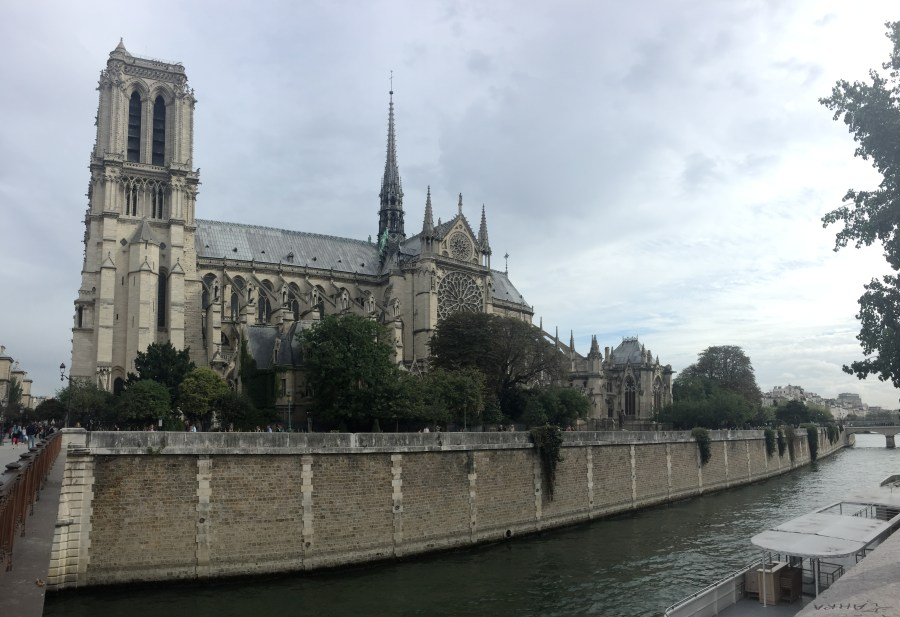 Notre Dame cathedral, a must see in Paris