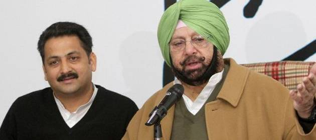 Amarinder Singh demands President's Rule in Punjab