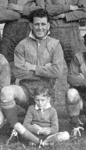 George Watt captaining Boorowa 1947