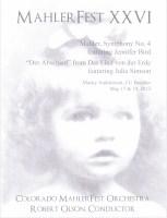 MahlerFest XXVI - 2013 - Program Book