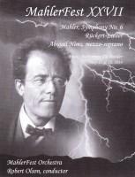 MahlerFest XXVII - 2014 Program Book
