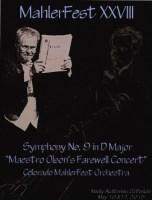 MahlerFest XXVIII - 2015 - Program Book