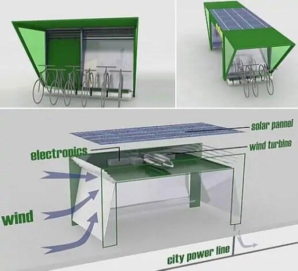 نموذج للتهوية في العمارة المستدامة