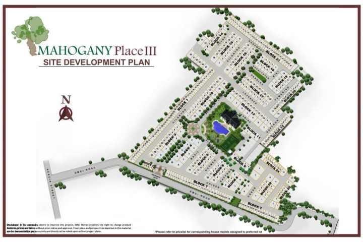 Mahogany Place 3 Site Development Plan