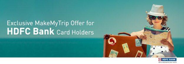 Makemytrip HDFC Bank Offer