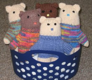 Teddy Bears in Basket January and February 2014 Newsletter