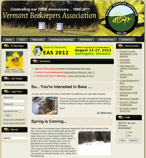 Vermont Beekeepers Association - http://vermontbeekeepers.org/