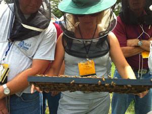 Master Beekeeper Erin MacGregor-Forbes at the 2010 Eastern Apicultural Society Annual Meeting