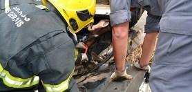 Acidente na Serra da Morte em Buritis-MG (10/06/2013)