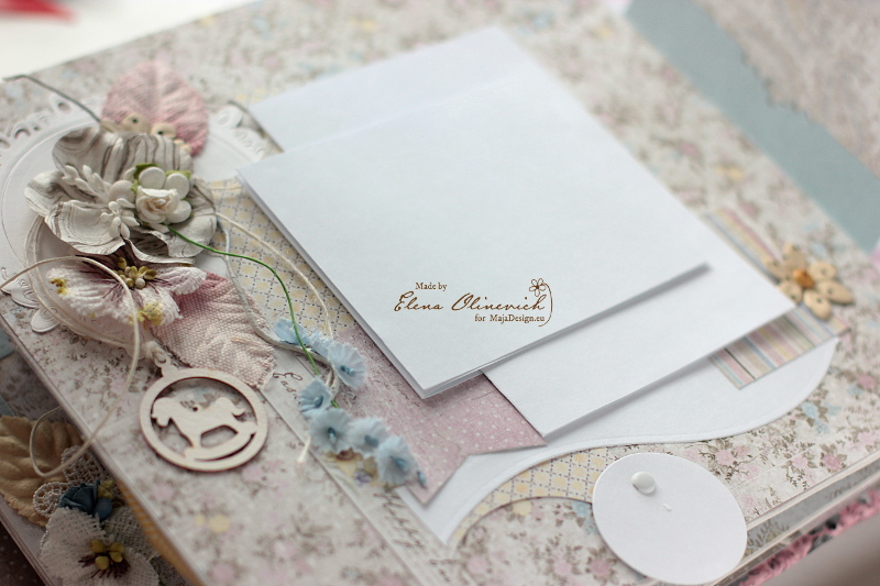 Floral Handmade Album by Elena Olinevich 6