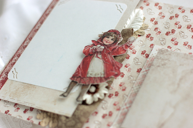 Winter is Magic Mini Album, by Elena Olinevich, Maja Design, photo2