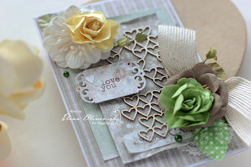 Valentine Day card for Her, by Elena Olinevich, for Maja Design1a