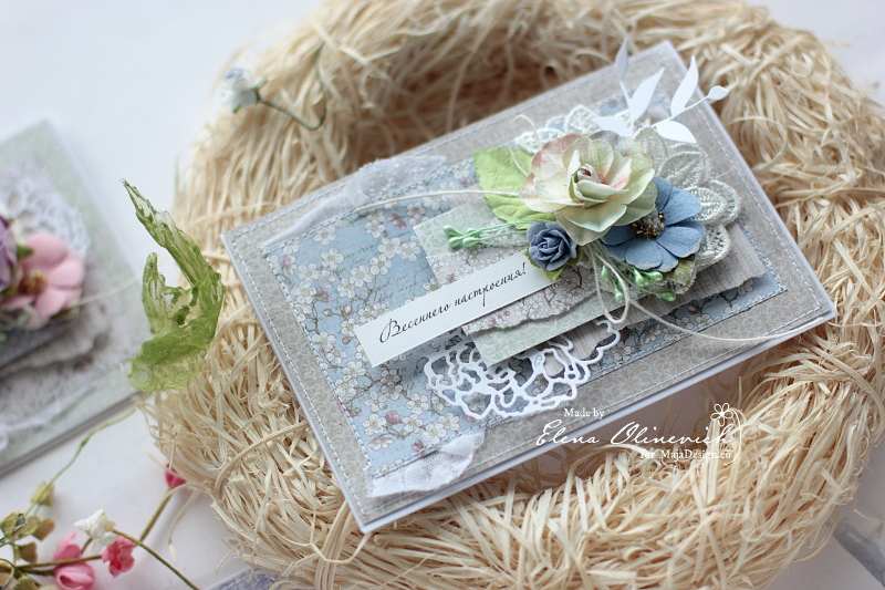 Spring Card by Elena Olinevich for Maja Design3a