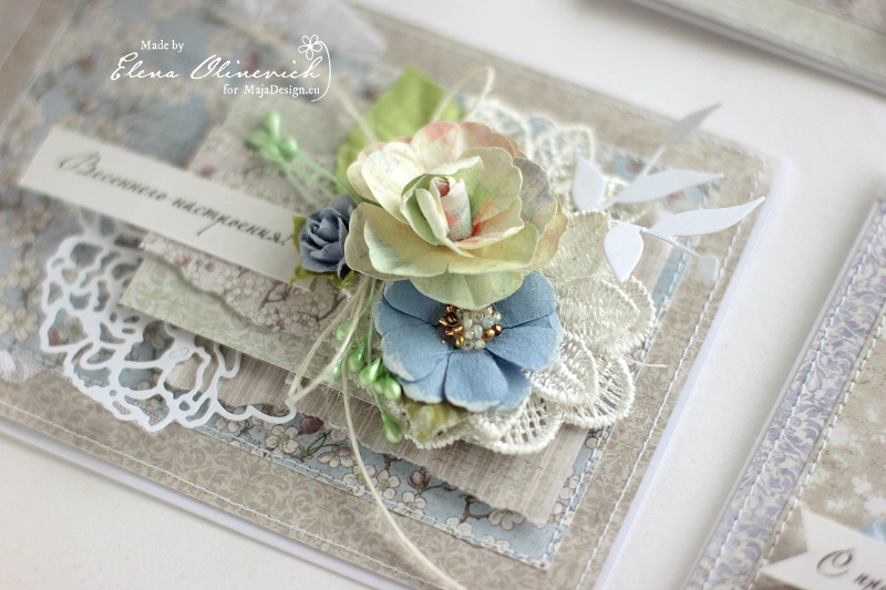 Spring Card by Elena Olinevich for Maja Design4