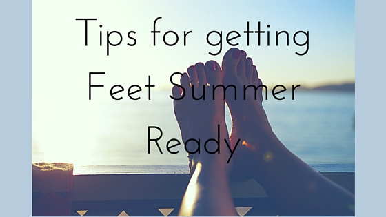 Tips for getting feet summer ready on Work in Progress www.majeang.com