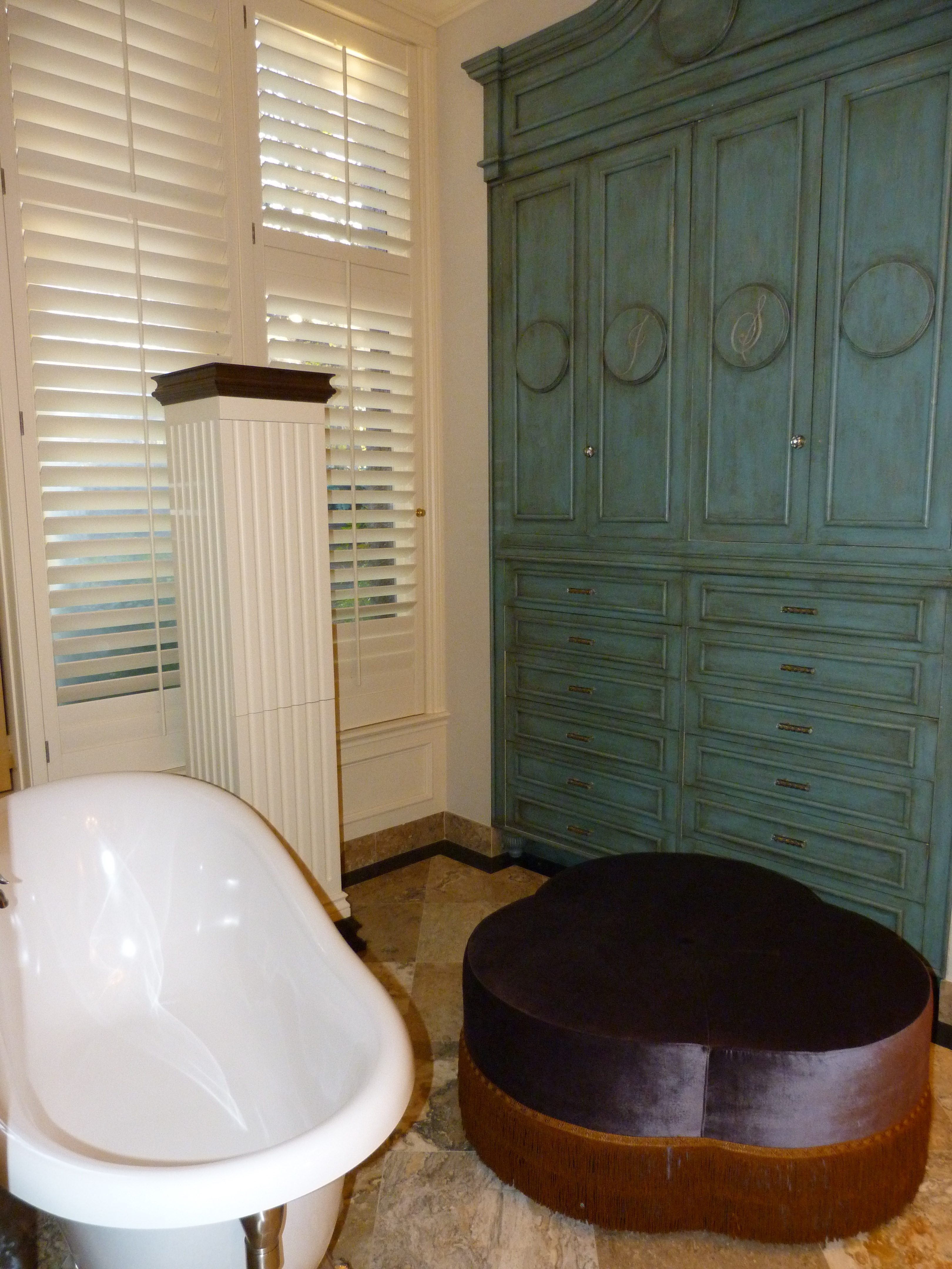 bathroom remodeling oklahoma city kitchen remodel okc Gorgeous green bathroom cabinets by Majestic Construction