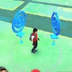 【ポケモンGO】200mはどのくらい?マップに表示される範囲とトレーナーの周りの円の範囲について
