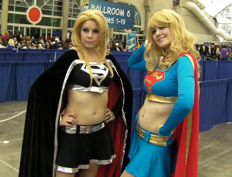 Good and evil Supergirls? There's a fanboy fantasy in there somewhere.