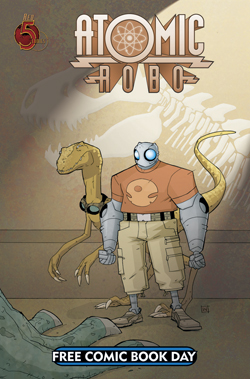 Red 5 Comics FCBD12_ATOMIC ROBO