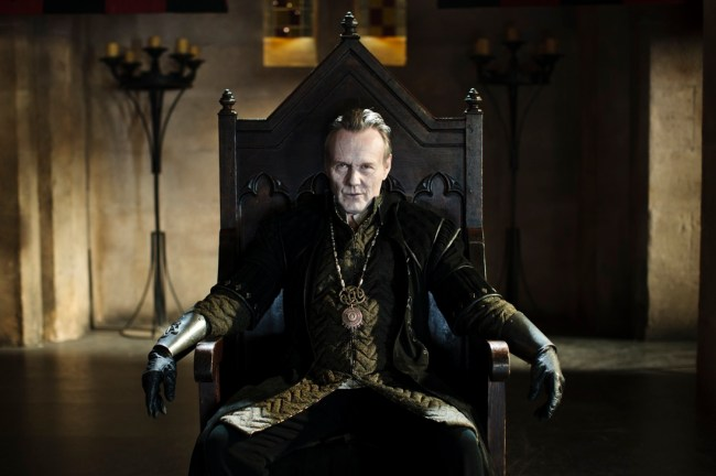 Uther on Throne