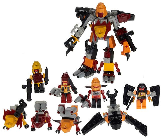 A2227-KRE-O-TRANSFORMERS-Micro-Changer-Combiner-Predicus---Full-Set