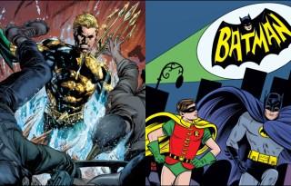Jeff Parker, Wayne Hall, Wayne's Comics, Aquaman, Batman, Adam West, Mera, Justice League, Robin