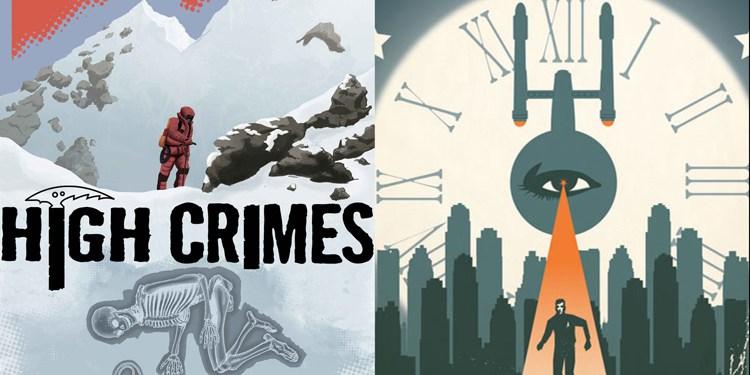 Wayne Hall, Wayne's Comics, J.K. Woodward, Star Trek, Christopher Sebela, Ibrahim Mustafa, High Crimes, Monkeybraincomics.com