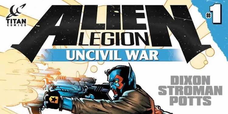 Wayne Hall, Wayne's Comics, Chuck Dixon, Winterworld, Alien Legion, Carl Potts, Titan Comics, Bad Times,