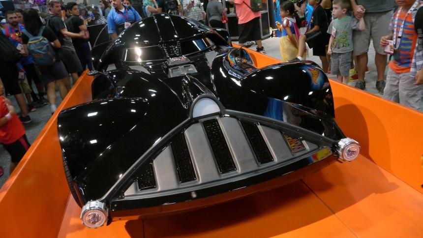 Darth Vader Hot Wheel Car - Major Spoilers