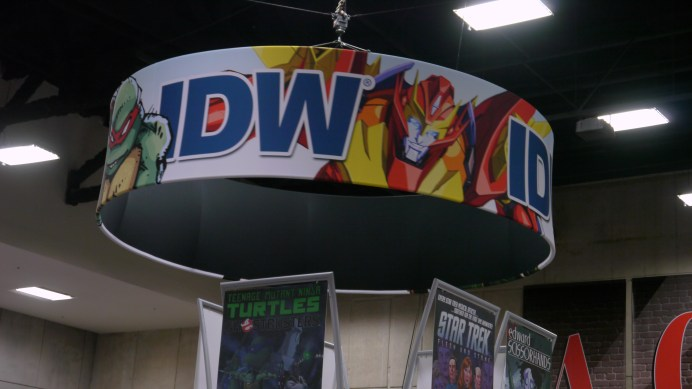 IDW Booth - Major Spoilers