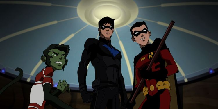 YJ-Beast Boy-Nightwing-Robin