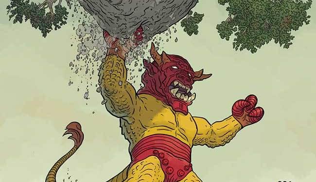 Uncanny_Avengers_1_Darrow_Kirby_Monster_Variant