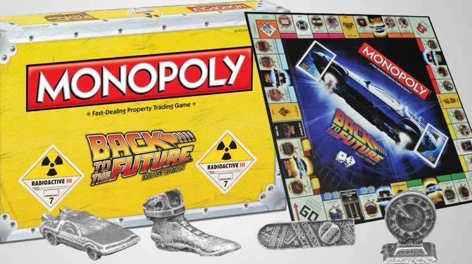 back-to-the-future Monopoly