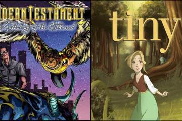 Wayne Hall, Wayne's Comics, Insane Comics, Frank Martin, Modern Testament, Anthology of the Ethereal, Roland Mann, Deonna Herrold, Tiny, Thumbelina, MegaCon, Orlando, Kickstarter,